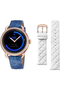 festina smartwatch »smartime, f50002-1« blauw
