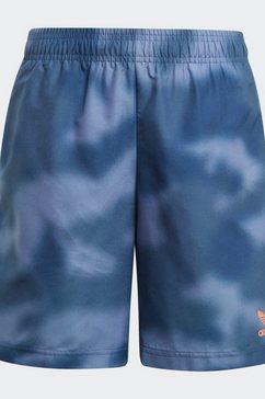 adidas originals short »swim short« blauw