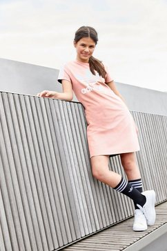 adidas originals shirtjurk skater jurk oranje