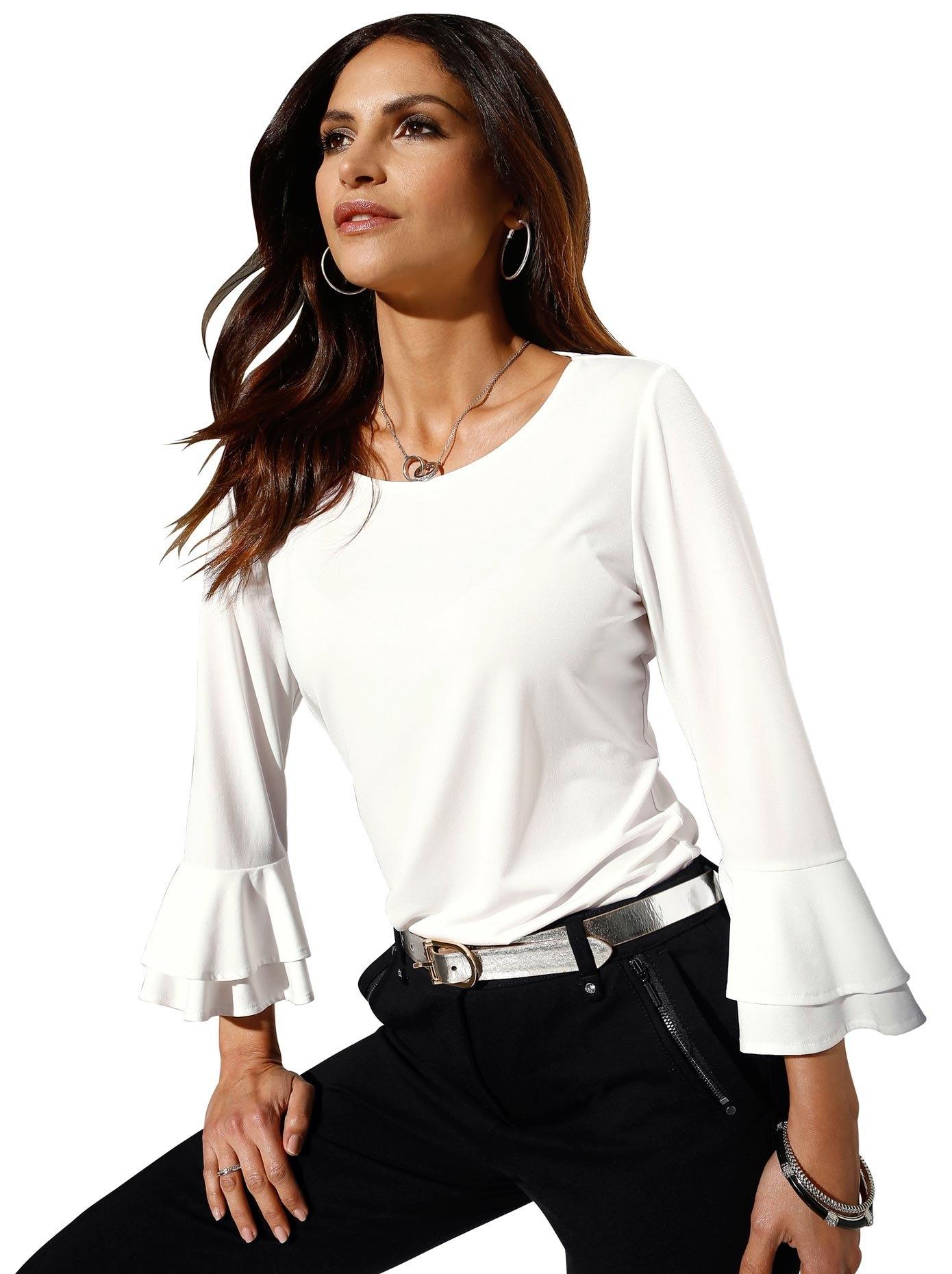 Alessa W. shirt met ronde hals nu online bestellen