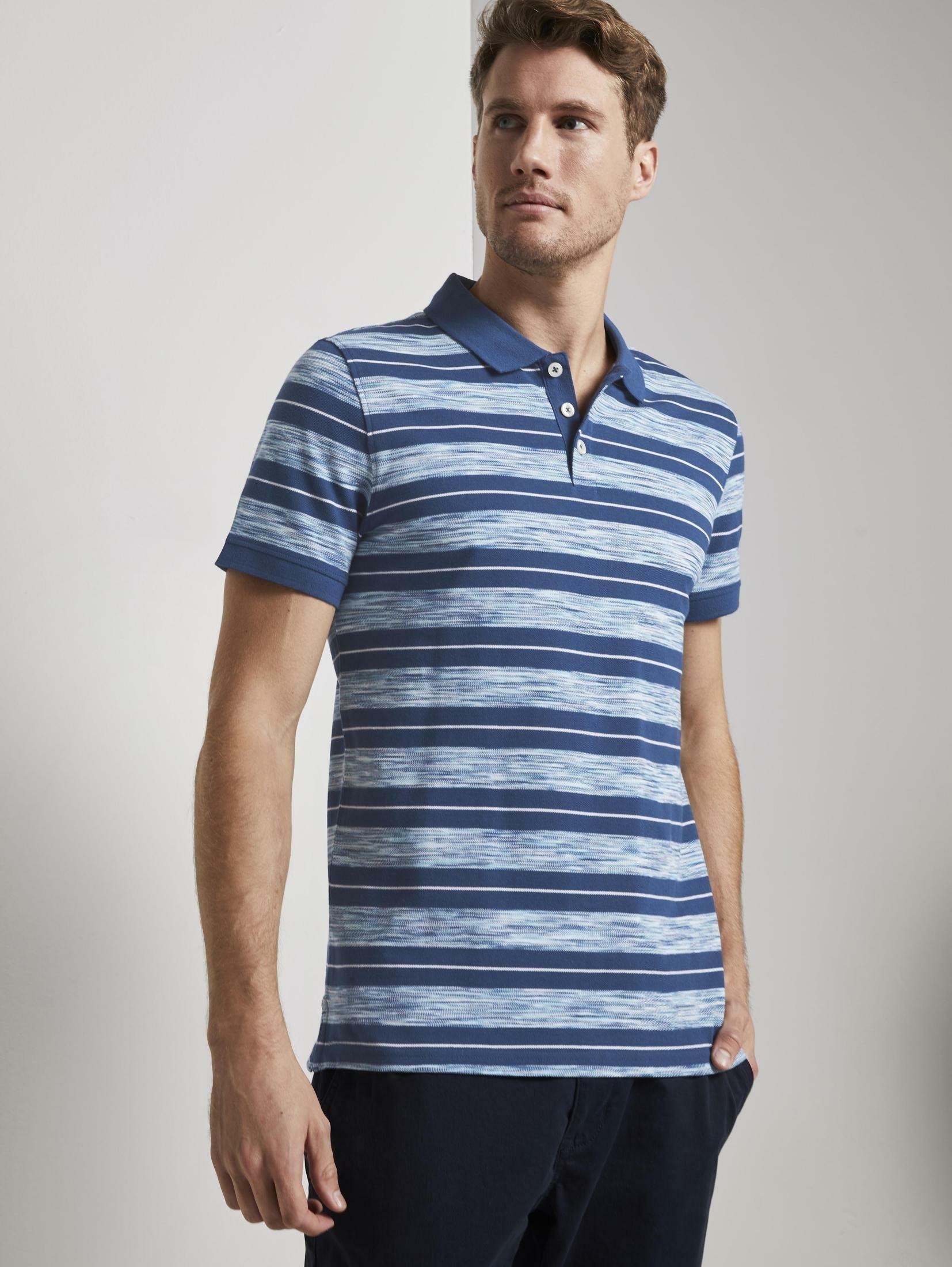 Tom Tailor poloshirt »Poloshirt mit Streifenmuster« voordelig en veilig online kopen