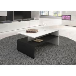 helvetia meble salontafel (100 x 60 xm) wit