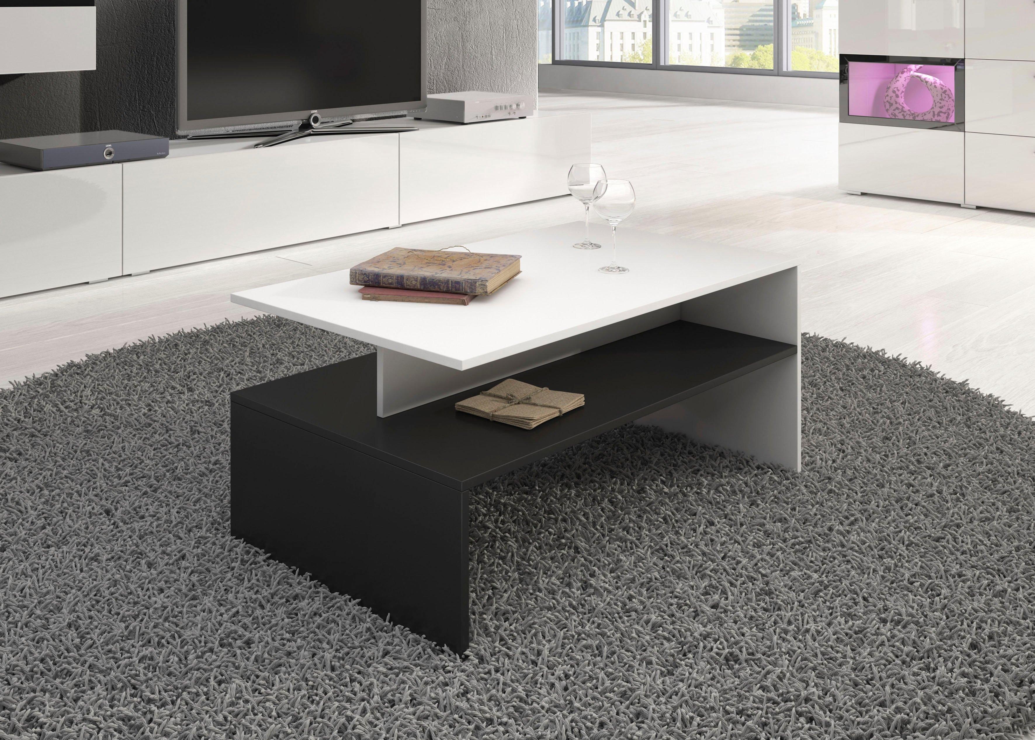 TRENDMANUFAKTUR salontafel (100 x 60 xm) - gratis ruilen op otto.nl