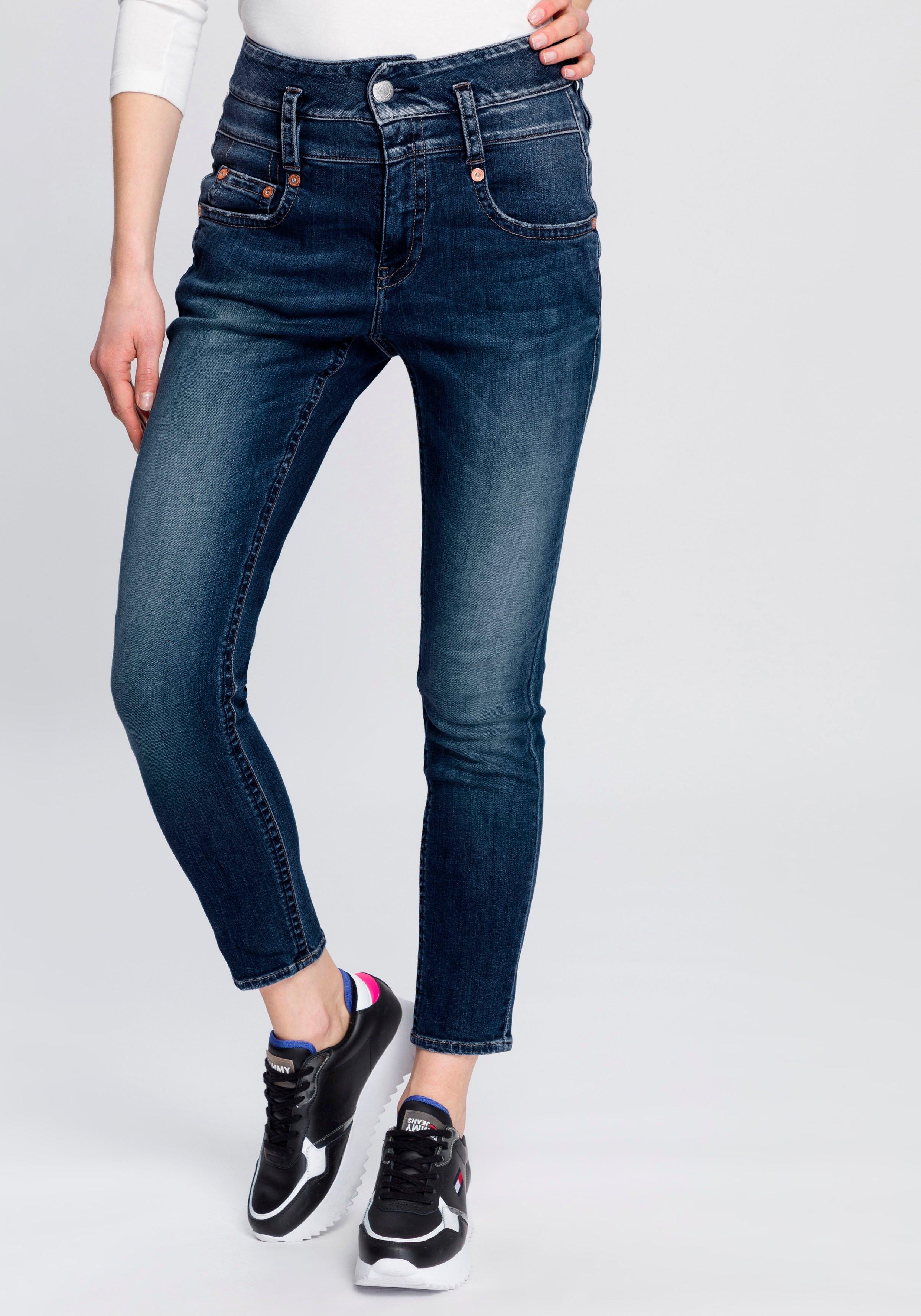Herrlicher slim fit jeans »PITCH HIGH SLIM« nu online bestellen