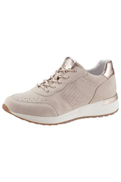 bugatti sneakers met sleehak »ivory evo eco« beige