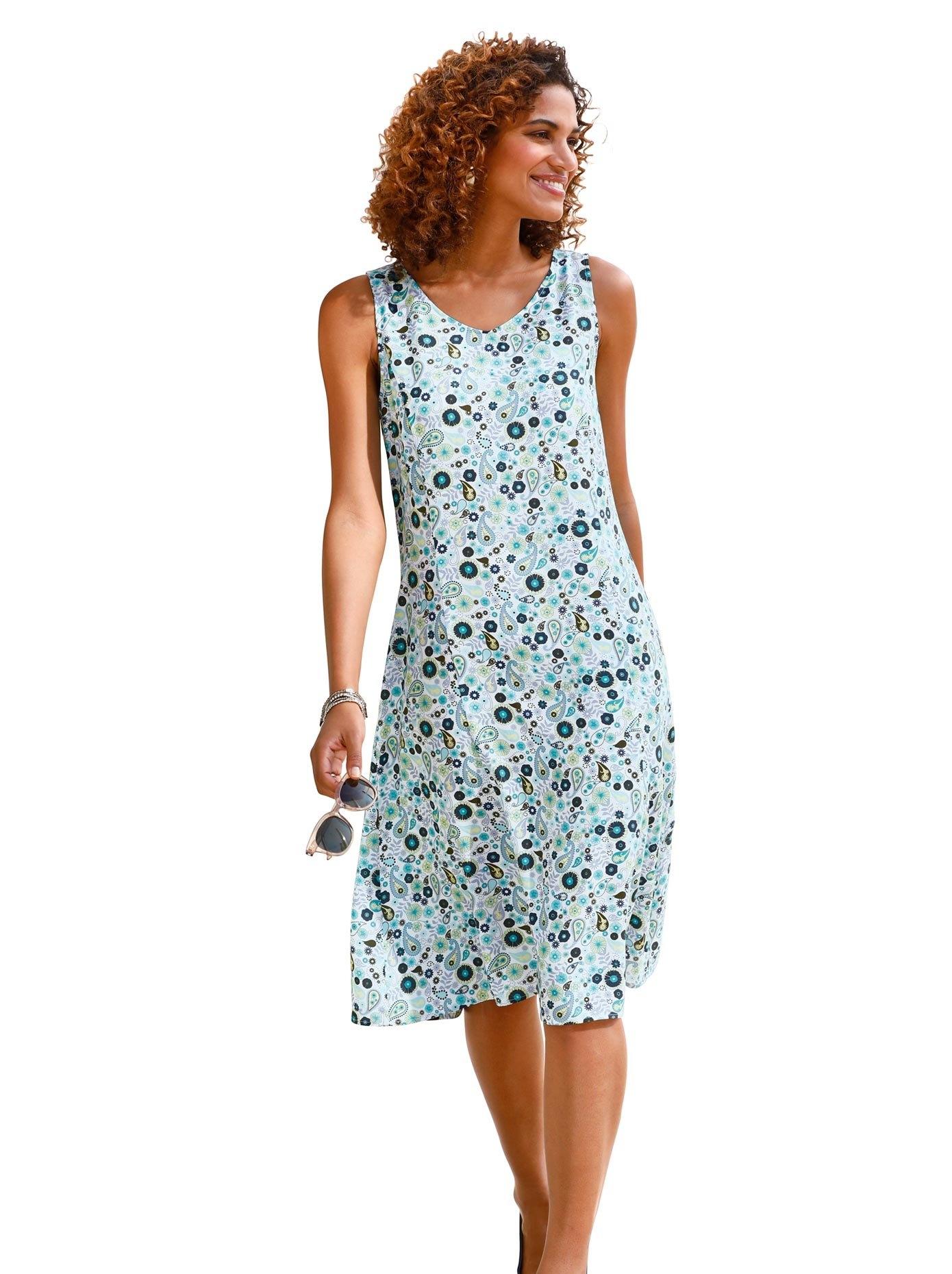 Classic Basics gedessineerde jurk Jurk - verschillende betaalmethodes