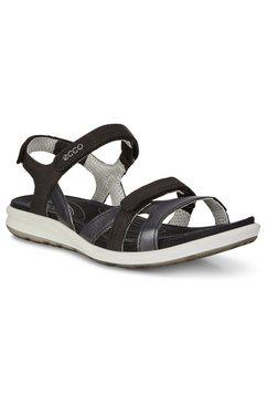 ecco sandalen cruise met stijlvolle logo-opschrift zwart
