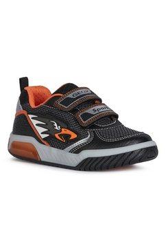geox kids klittenbandschoenen schoenen inek boy met opvallend knipperlichtje zwart