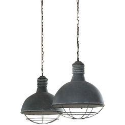 salesfever hanglamp »anton« grijs