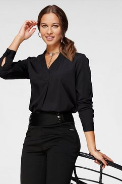 bruno banani blouse zonder sluiting zwart