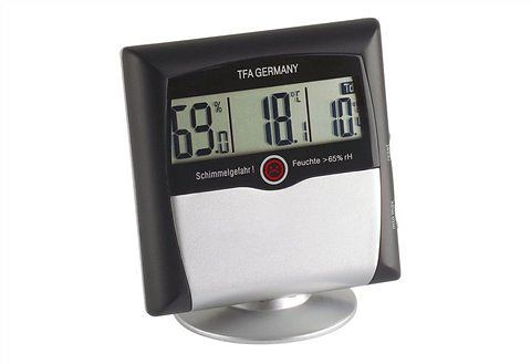 Digitale thermo-hygrometer, TFA, 'Comfort Control'