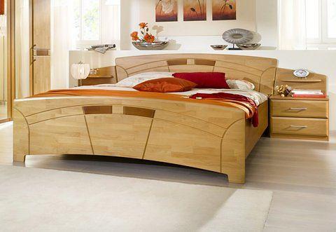 Bed honingkleur beige Home Affaire 730228