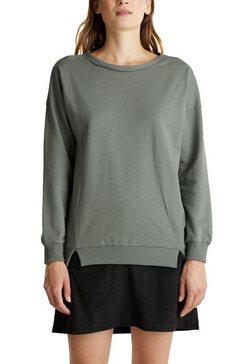 edc by esprit sweatshirt in casual oversized stijl groen