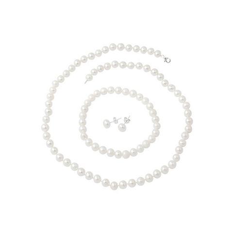 NU 20% KORTING: firetti sieradenset: ketting, armband en oorstekers met kralen (4-dlg.)
