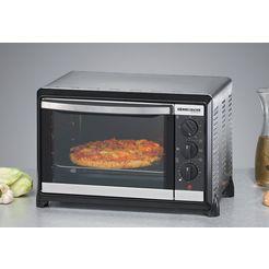 rommelsbacher »bg 1055-e« mini-oven zilver