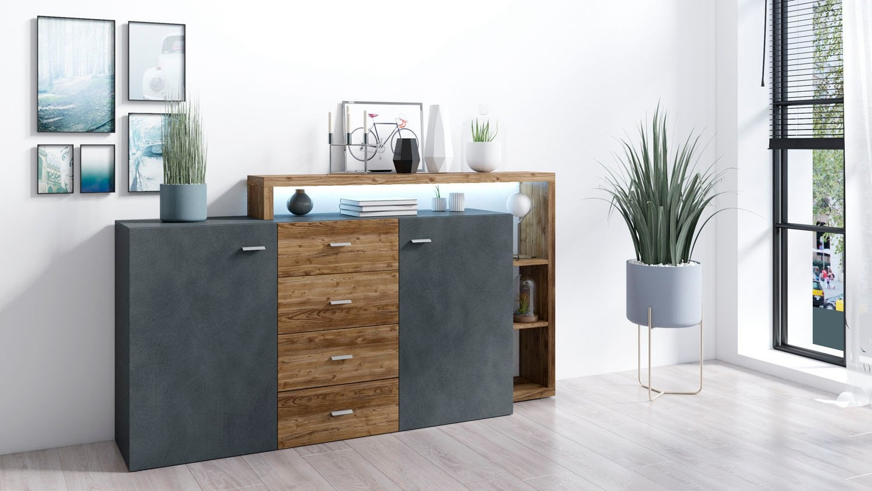 TRENDMANUFAKTUR dressoir »Bota« goedkoop op otto.nl kopen