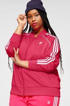 adidas originals trainingsjack »superstar tracktop« roze