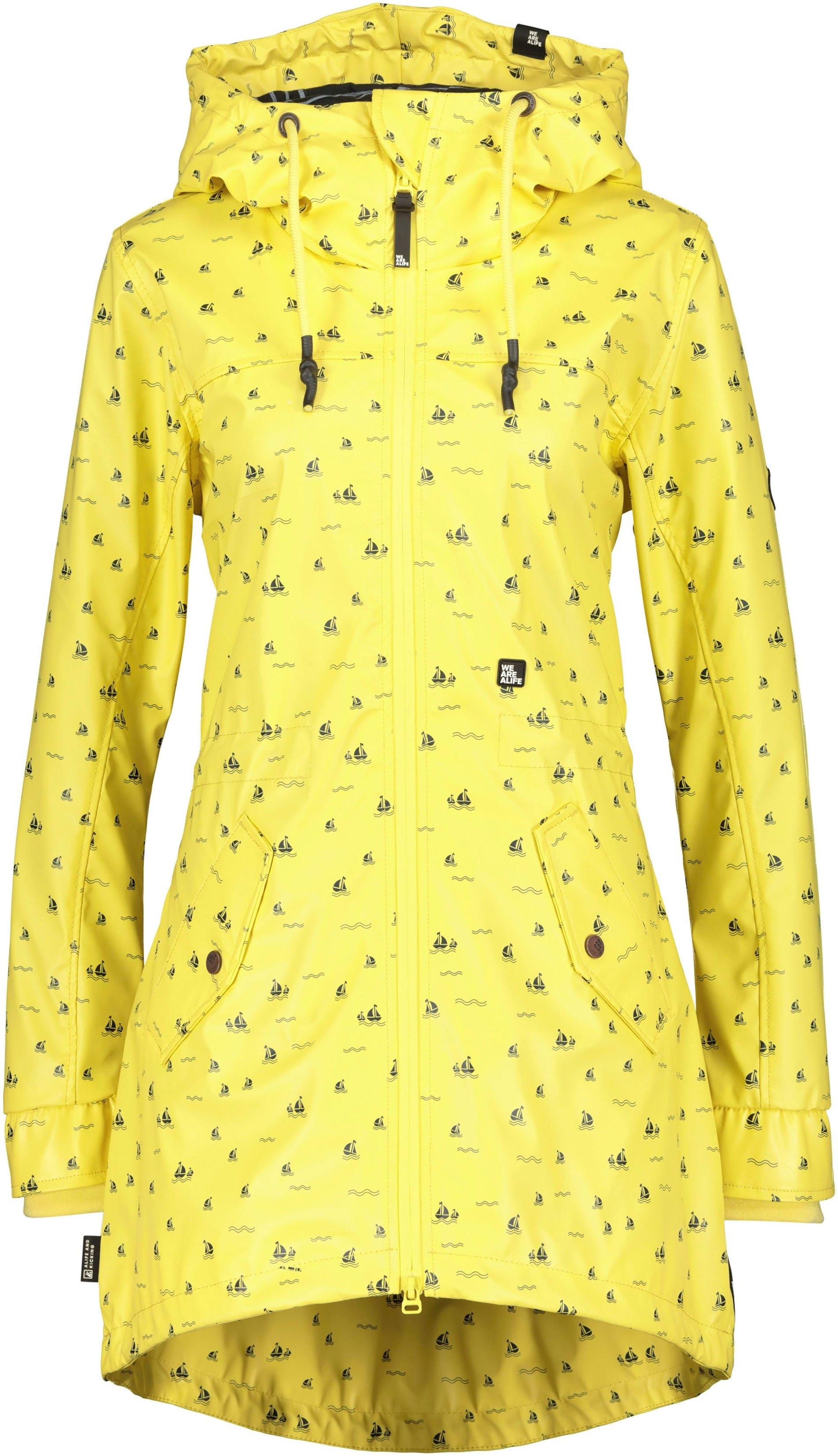 alife and kickin outdoorjack AudreyAK sportieve regenjas in schitterende kleuren bij OTTO online kopen
