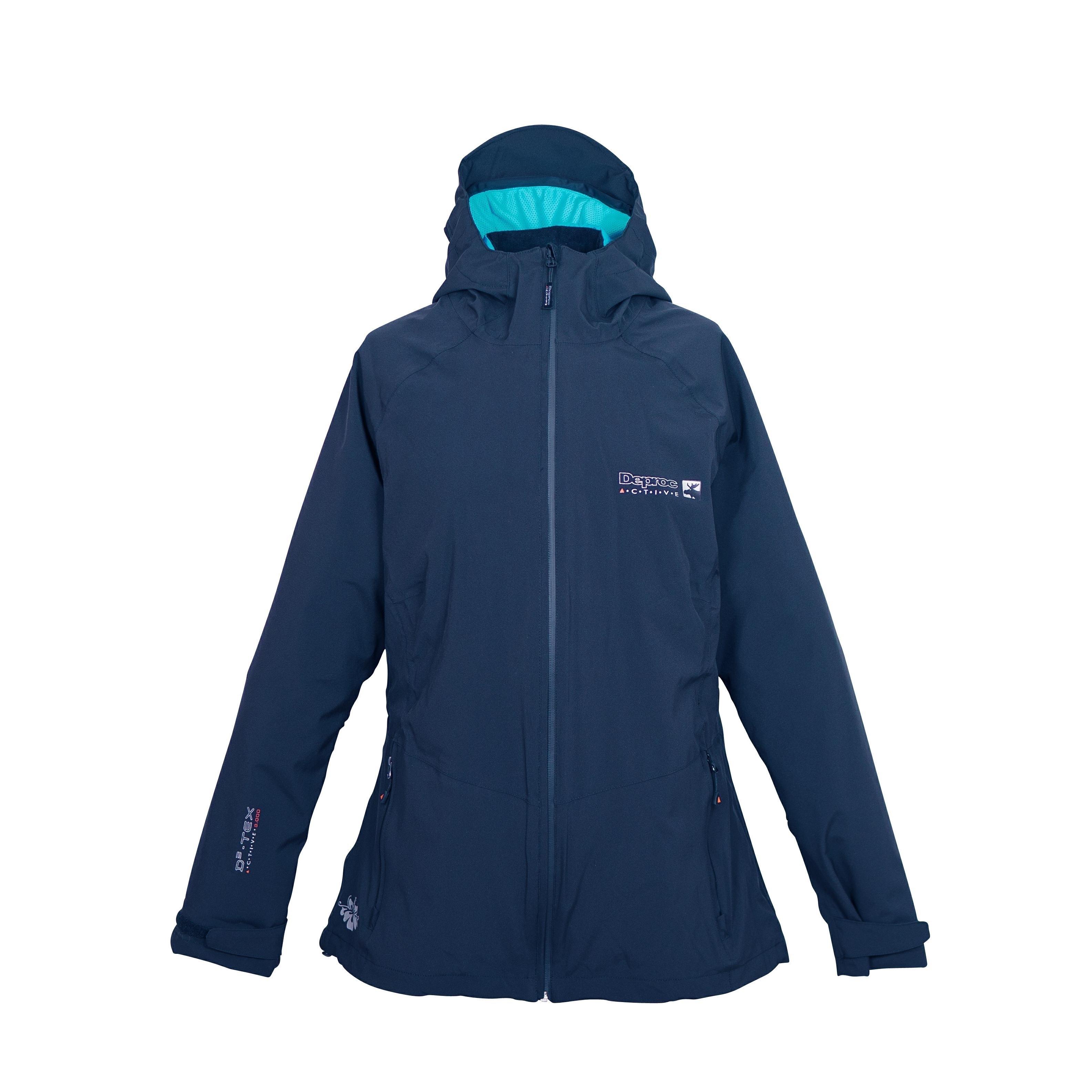 DEPROC Active outdoorjack Whistler SUMMER WOMEN met zip-in systeem voor bijpassend binnenjack - verschillende betaalmethodes