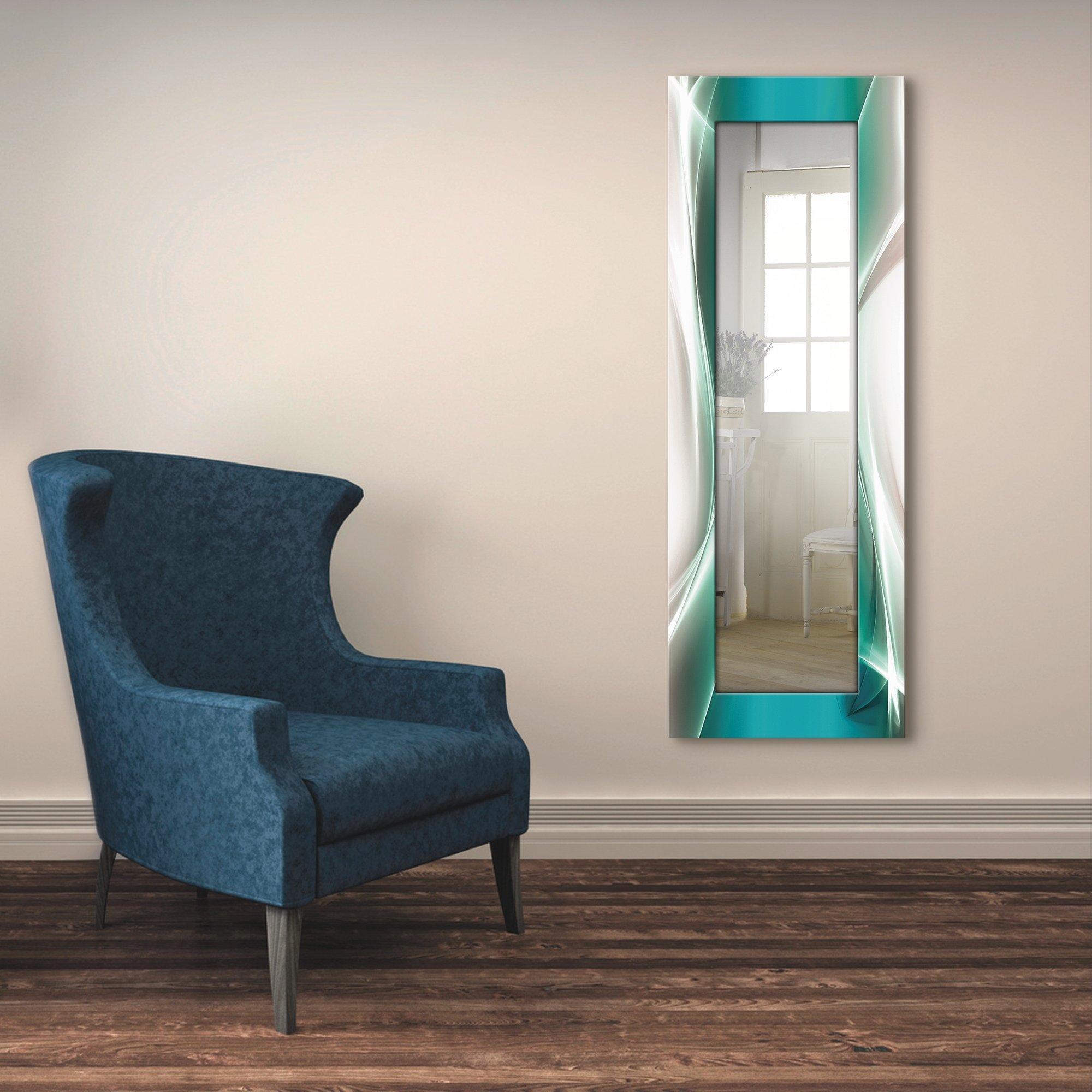 Artland wandspiegel Creatief element ingelijste spiegel voor het hele lichaam met motiefrand, geschikt voor kleine, smalle hal, halspiegel, mirror spiegel omrand om op te hangen - verschillende betaalmethodes