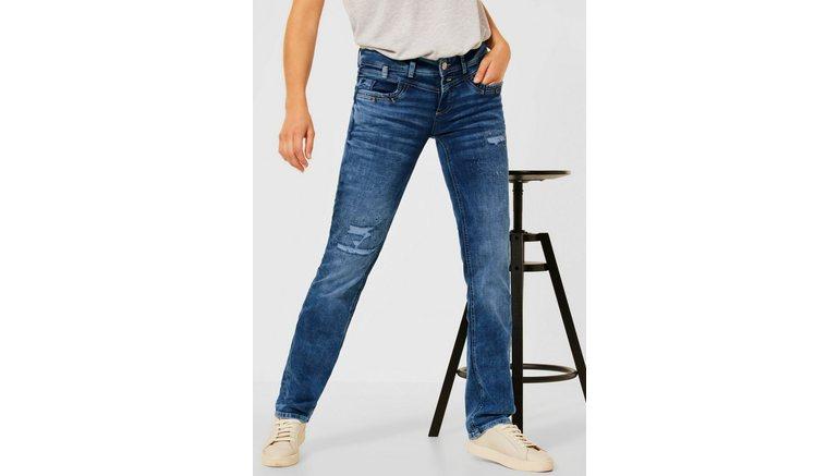 STREET ONE loose fit jeans Kate met destroyed-effect