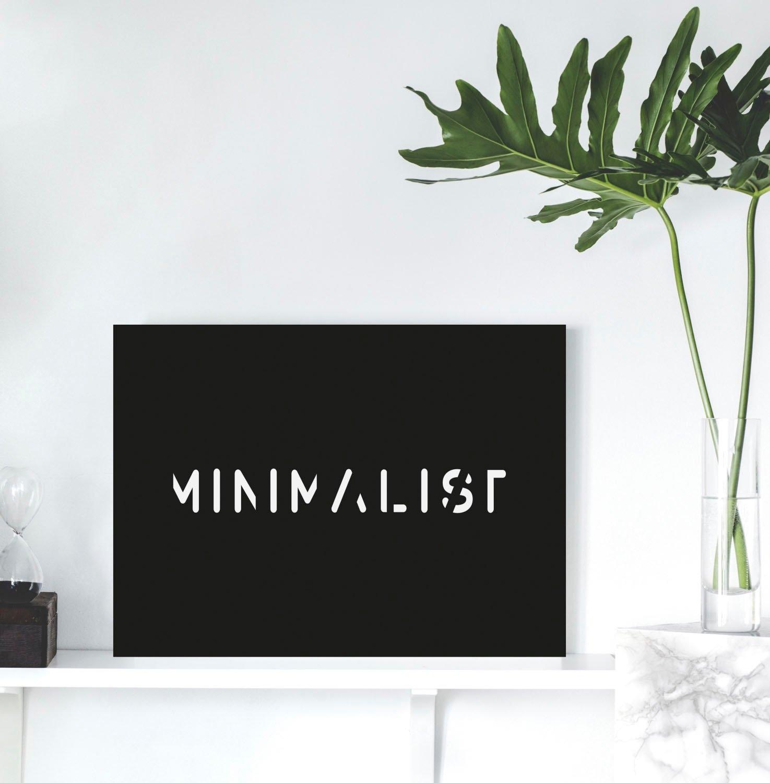 queence artprint op acrylglas MINIMALIST in de webshop van OTTO kopen