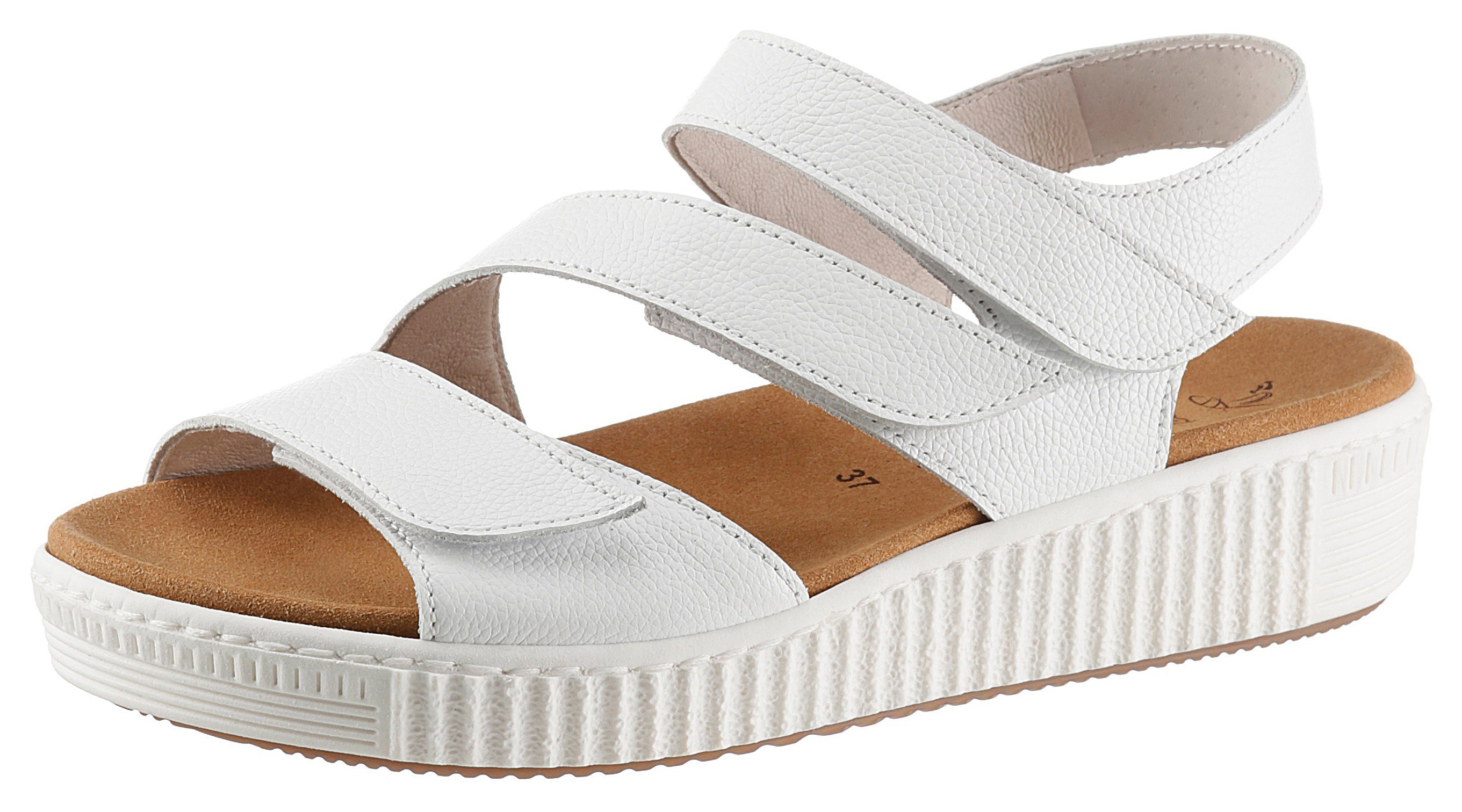Gabor sandalen met drie klittenbandsluitingen nu online bestellen