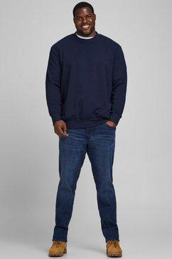 jack  jones sweatshirt »basic sweat crew neck« blauw
