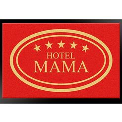 hanse home mat hotel mama 5 sterren rood