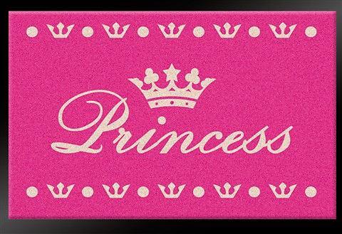 Deurmat Printy Princess roze, Hanse Home Collection