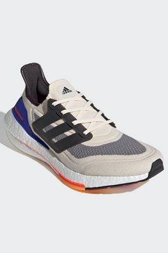 adidas performance runningschoenen ultraboost 21 performance boost primeblue primeknit ultra mens wit