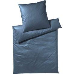 yes for bed overtrekset »solid« blauw