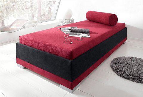MAINTAL Bed met houten frame met koudschuimmatras zwart Maintal 443430