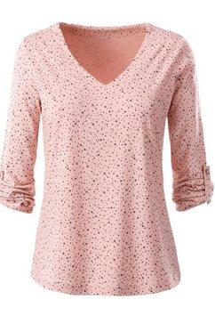 ambria shirt met print roze