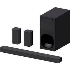 sony soundbar ht-s20r kanaal tv subwoofer, surround sound, dolby digital zwart