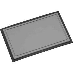 wmf snijplank met sapgroef, aan beide kanten te gebruiken (1 stuk) grijs