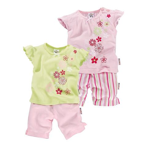 Set: 2 T-shirts + 2 shorts, BABYWORLD