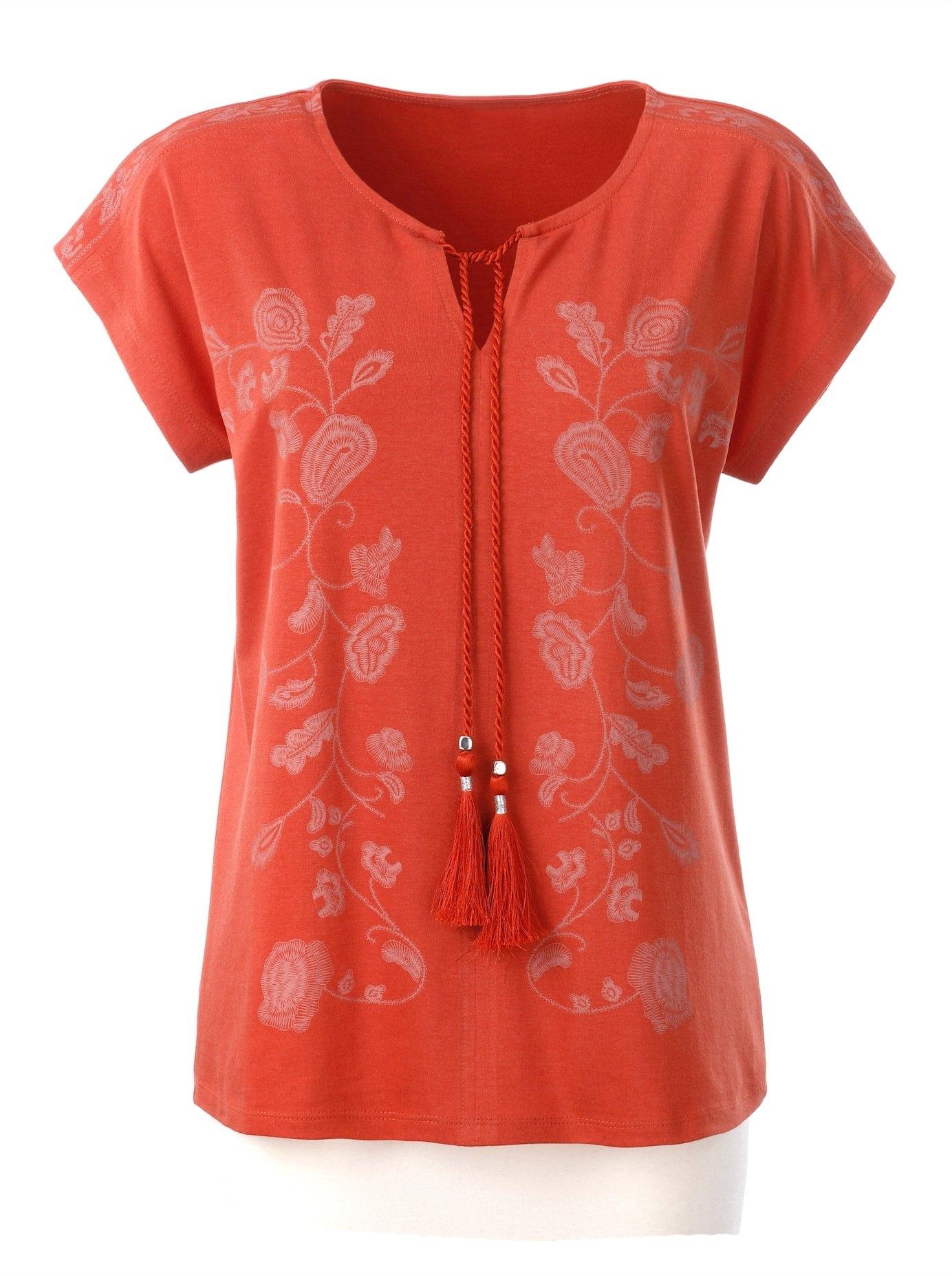 Ambria shirt met ronde hals online kopen op otto.nl