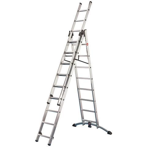 Combi-ladder »ProfiLOT aluminium«