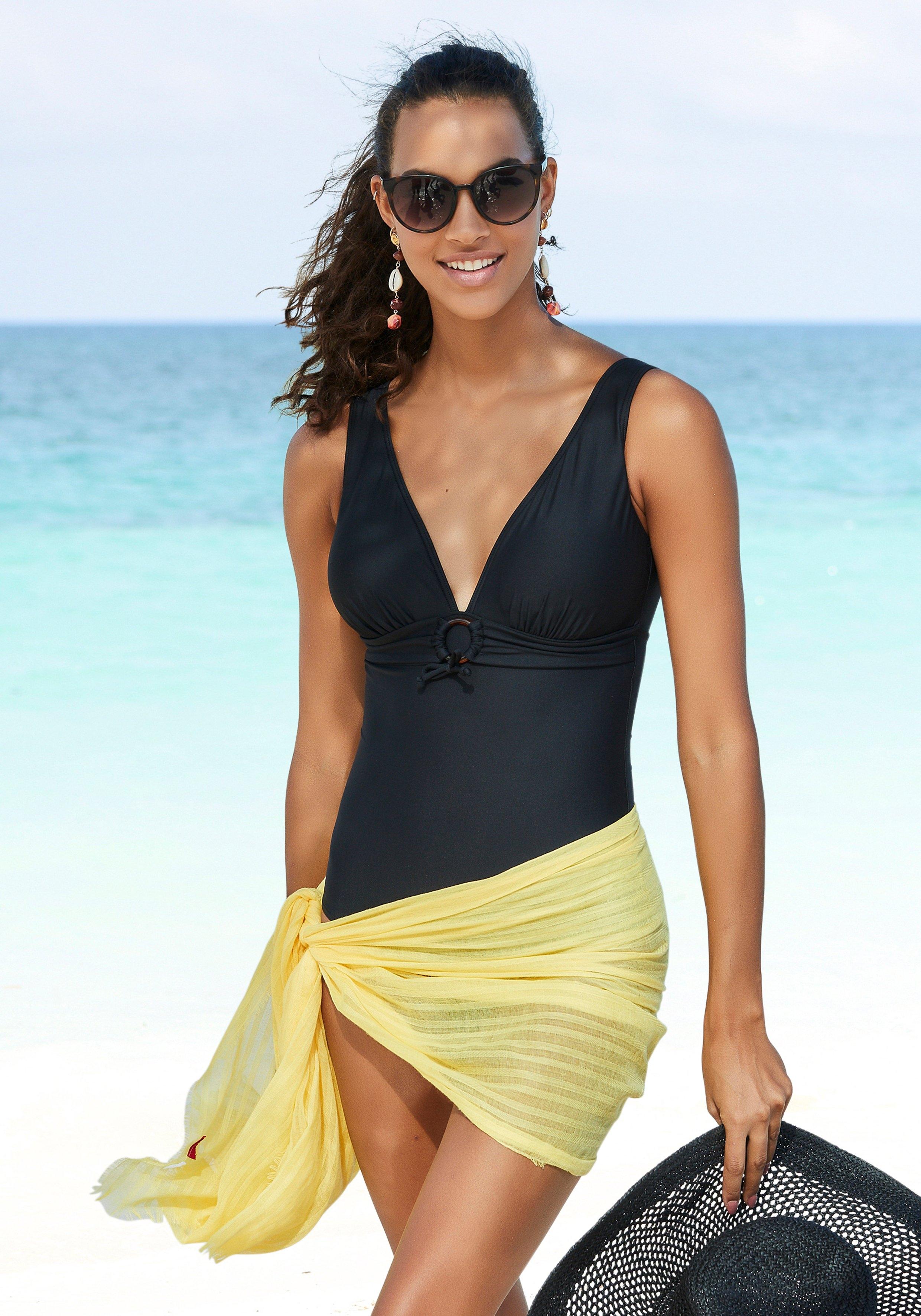 s.Oliver RED LABEL Beachwear badpak Rome met sierring en modellerend effect bestellen: 30 dagen bedenktijd