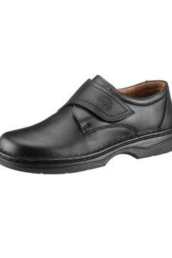helix schoenen met klittenbandsluiting zwart