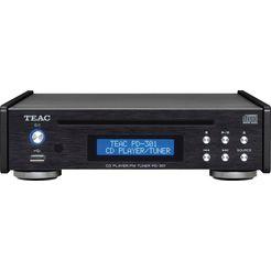 teac »pd-301dab-x« cd-speler zwart