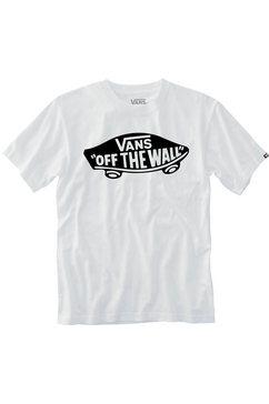 vans t-shirt »otw logo fill boys« wit