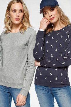 flashlights sweatshirt (set van 2) grijs