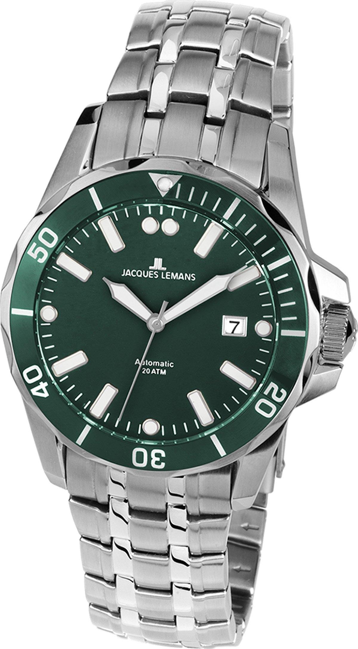 Jacques Lemans automatisch horloge Liverpool, 1-1910C - verschillende betaalmethodes