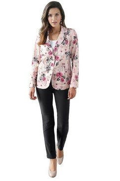 classic basics blouseblazer roze