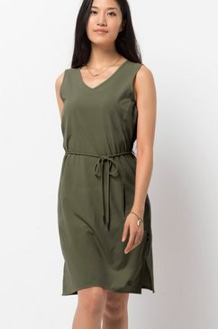 jack wolfskin zomerjurk »tioga road dress« groen