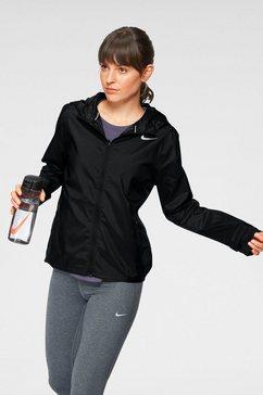nike runningjack »essential jacket« zwart