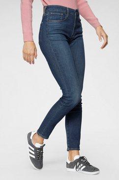 levi's skinny fit jeans »721 high rise skinny« blauw