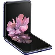 samsung »galaxy z flip« smartphone paars